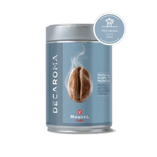 Caffè Decaroma macinato 250 gr