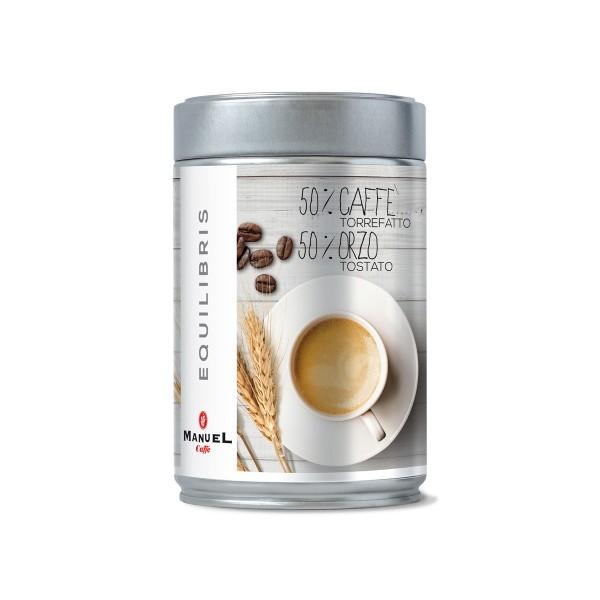 50% caffè torrefatto 50% orzo tostato