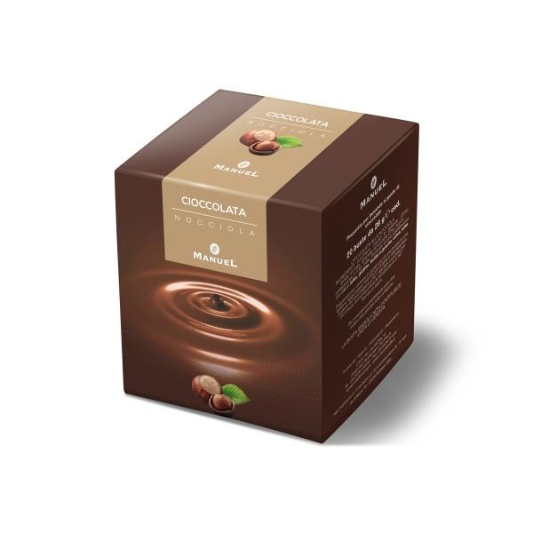Hot hazelnut chocolate