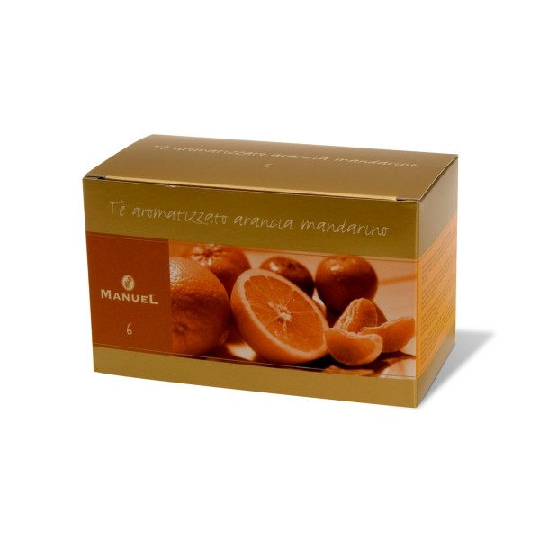 Orange and Mandarin flavoured tea