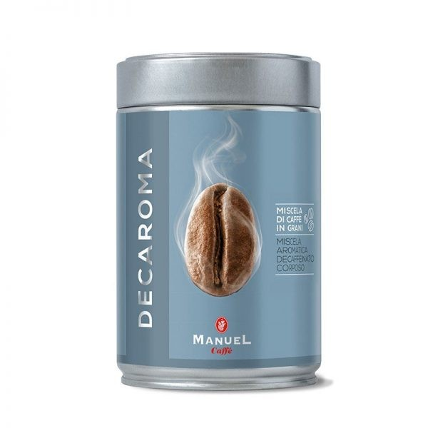 Decaroma Coffee in Beans 250 gr