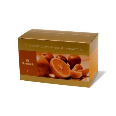 Tee mit Orangen- und Mandarinen-Aroma