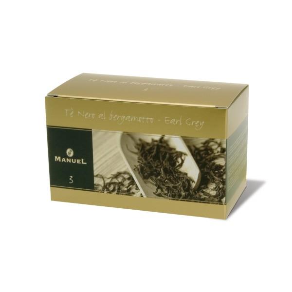 Schwarzer Tee mit Bergamotte - Earl Grey